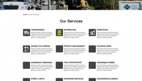 Services Page option